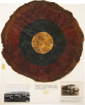 Military & Patriotic:WWI, Rare Roundel Insignia Removed From U. S. Air Service Neiuport28....