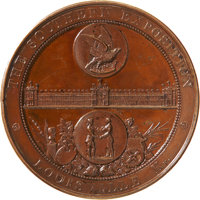 Bronze Medal Awarded to the Remington Arms Co. at the Louisville, Kentucky Southern Exposition, 1883
