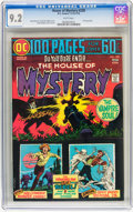 Bronze Age (1970-1979):Horror, House of Mystery #228 (DC, 1974) CGC NM- 9.2 White pages....