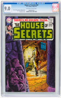 Bronze Age (1970-1979):Horror, House of Secrets #83 (DC, 1970) CGC VF/NM 9.0 Off-white to whitepages....