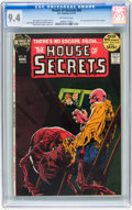 Bronze Age (1970-1979):Horror, House of Secrets #98 (DC, 1972) CGC NM 9.4 Off-white pages....