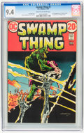 Bronze Age (1970-1979):Horror, Swamp Thing #3 (DC, 1973) CGC NM 9.4 Cream to off-white pages....