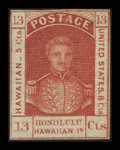 Stamps, 13c Dark Red (6),...