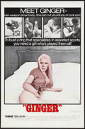 "Movie Posters:Sexploitation, Ginger (Joseph Brenner Associates, 1971). One Sheet (27"" X 41"").Sexploitation.. ..."