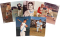 Autographs:Others, Hall of Famers & Stars Signed Photographs Lot of 7....