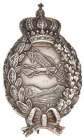 Military & Patriotic:WWI, World War I Bavarian Pilot's Badge....
