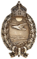 Military & Patriotic:WWI, World War I: Imperial German Naval Air Service Land Plane Pilot Badge....