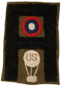 Military & Patriotic:WWI, World War I: United States First Army Balloonist Patch....