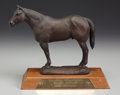 Western:20th Century, GEORGE PHIPPEN (American, 1915-1966). American Quarter Horse. Bronze. 10 x 10-1/2 x 5 inches (25.4 x 26.7 x 12.7 cm). Ti...