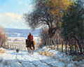 Paintings, MARTIN GRELLE (American, b. 1954). December Morning, 1985. Oil on linen. 20 x 16 inches (50.8 x 40.6 cm). Signed and dat...