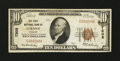 National Bank Notes:Missouri, Albany, MO - $10 1929 Ty. 1 The First NB Ch. # 7205. ...