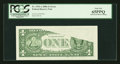 Error Notes:Obstruction Errors, Fr. 1932-A $1 2006 Federal Reserve Note PCGS Gem New 65PPQ.. ...