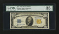 Small Size:World War II Emergency Notes, Fr. 2308 $10 1934 North Africa Silver Certificate. PMG Choice VeryFine 35.. ...