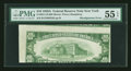 Error Notes:Skewed Reverse Printing, Fr. 2011-B $10 1950A Federal Reserve Note. PMG About Uncirculated55 EPQ.. ...