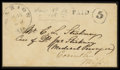 Stamps, Marion, Ala Handstamp PAID 5 Type IA,...