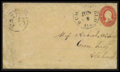 Stamps, Summerfield, Ala Handstamp PAID 5 Type I,...