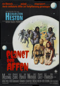 "Movie Posters:Science Fiction, Planet of the Apes (20th Century Fox, 1968). German A1 (23"" X 33"").Science Fiction.. ..."