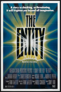 """The Entity Lot (20th Century Fox, 1983). One Sheets (2) (27"""" X 41""""). Horror. ... (Total: 2 Items)"""