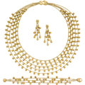 Estate Jewelry:Suites, Gold Jewelry Suite, Marco Bicego. ... (Total: 4 Items)