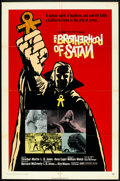 "Movie Posters:Horror, The Brotherhood of Satan (Columbia, 1971). One Sheet (27"" X 41""). Horror.. ..."
