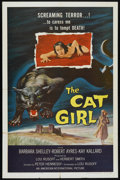 """Movie Posters:Horror, The Cat Girl (American International, 1957). One Sheet (27"""" X 41""""). Horror.. ..."""