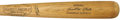 Autographs:Bats, 1964 Detroit Tigers Signed Half Bat....
