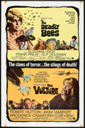 """Movie Posters:Horror, The Deadly Bees/The Vulture Combo (Paramount, 1967). One Sheet (27"""" X 41""""). Horror.. ..."""
