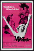 "Movie Posters:Drama, The Witches (Lopert Pictures, 1967). One Sheet (27"" X 41""). Drama.. ..."