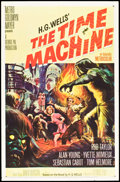 "Movie Posters:Science Fiction, The Time Machine (MGM, 1960). One Sheet (27"" X 41""). ScienceFiction.. ..."