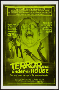"""Terror From Under the House Lot (Hemisphere Pictures, 1976). One Sheets (3) (27"""" X 41"""") Flat-Folded. Thriller..."""