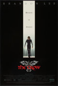 "Movie Posters:Action, The Crow (Miramax, 1994). One Sheet (27"" X 40"") SS Advance & Regular. Action.. ... (Total: 2 Items)"
