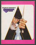 "Movie Posters:Science Fiction, A Clockwork Orange (Warner Brothers, 1971). British Program (Multiple Pages, 11"" X 8.5""). Science Fiction.. ..."