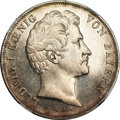 German States:Bavaria, German States: Bavaria. Ludwig I 2 Taler 1848,...