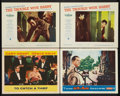 """Movie Posters:Hitchcock, To Catch a Thief Lot (Paramount, 1955). Lobby Cards (4) (11"""" X 14""""). Hitchcock.. ... (Total: 4 Items)"""