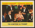 """Movie Posters:Hitchcock, To Catch a Thief Lot (Paramount, 1955). Lobby Cards (4) (11"""" X14""""). Hitchcock.. ... (Total: 4 Items)"""