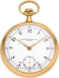 Timepieces:Pocket (post 1900), Patek Philippe Men's Gold Pocket Watch, circa 1906. ...