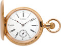 Timepieces:Pocket (pre 1900) , Vacheron & Constantin Lady's Mint Gold Pocket Watch, circa1892. ...