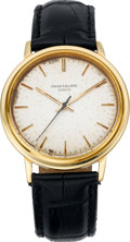 Timepieces:Wristwatch, Patek Philippe Gold Ref. 3569 Automatic Gent's Wristwatch, circa 1980. ...
