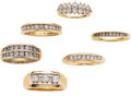 Estate Jewelry:Lots, Lot of Diamond, Gold Rings . ...