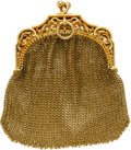 Estate Jewelry:Purses, Gold Coin Purse, French. ...
