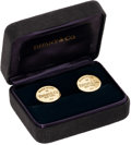 Estate Jewelry:Cufflinks, Gold Cuff Links, Tiffany & Co.. ... (Total: 2 Items)