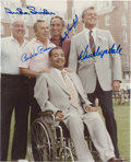 Autographs:Photos, Dodgers Hall of Famers Signed Photograph....