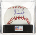 Autographs:Baseballs, Nolan Ryan Single Signed Baseball PSA Gem Mint 10. ...
