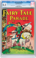 Golden Age (1938-1955):Humor, Fairy Tale Parade #5 File Copy (Dell, 1943) CGC VF+ 8.5 Cream to off-white pages....