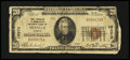 National Bank Notes:Virginia, Stanley, VA - $20 1929 Ty. 1 The Farmers & Merchants NB Ch. #10973. ...