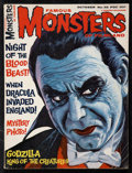 """Movie Posters:Horror, Famous Monsters of Filmland (Central Publications, 1965). Magazine (Multiple Pages, 8"""" X 11""""). Horror.. ..."""