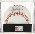 Autographs:Baseballs, Alex Rodriguez Single Signed Baseball PSA Gem Mint 10....