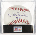 Autographs:Baseballs, Duke Snider Single Signed Baseball PSA Gem Mint 10....