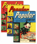Golden Age (1938-1955):Miscellaneous, Popular Comics #120 and 123-127 File Copies Group (Dell, 1946) Condition: Average VF.... (Total: 6 )