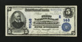 National Bank Notes:Pennsylvania, West Chester, PA - $5 1902 Plain Back Fr. 598 The First NB Ch. # (E)148. ...